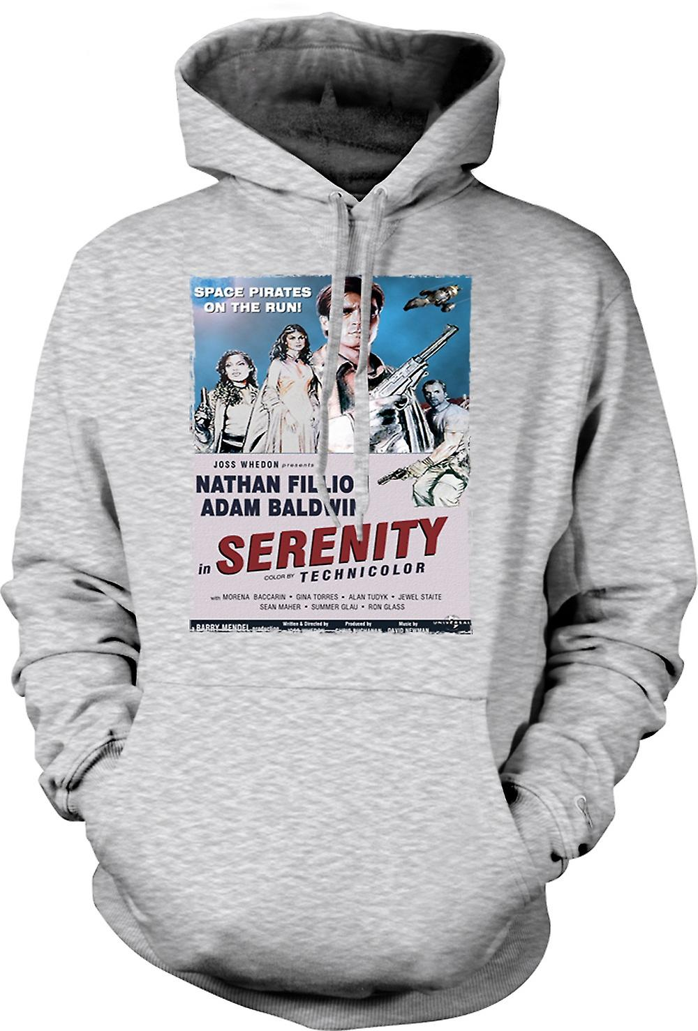 Mens Hoodie - Serenity Space Western - B Movie