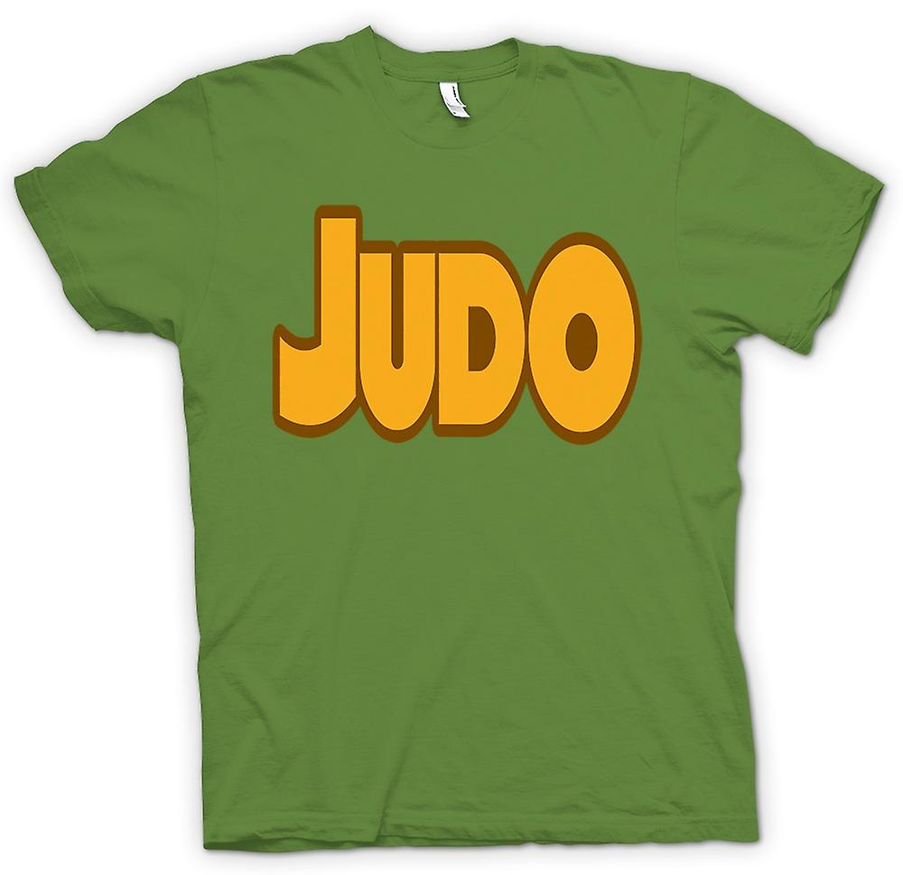 Mens T-shirt - Judo - Martial Art - Slogan