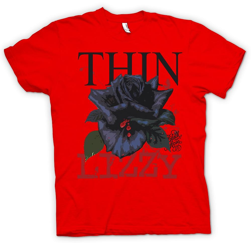 Mens T-shirt - Thin Lizzy  Rose