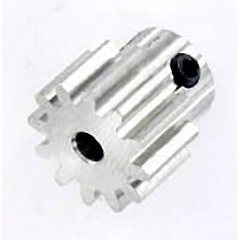 Stalen tandrad Reely Module Type: 1.0 boring diameter: 3.2 mm nr. tanden: 12