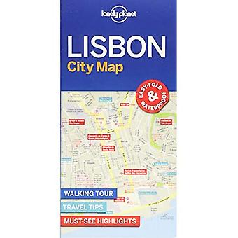 Lonely Planet Lisbon City Map