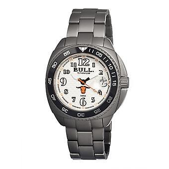 Bull Titan Matador Schweizer Armband Herrenuhr - White