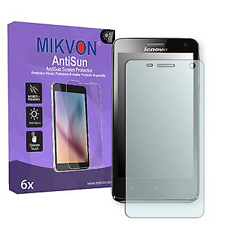 Lenovo S660 Screen Protector - Mikvon AntiSun (Retail Package with accessories)