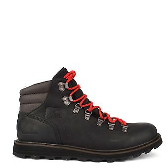Madson noir cuir Sorel masculine botte de randonnée