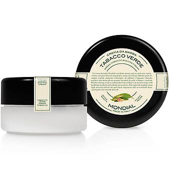 Mondial Green Tobacco Luxury Shaving Cream Tall Bowl 150ml