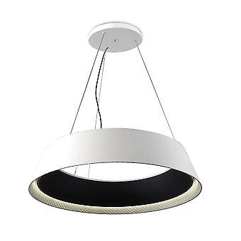 Ringofire Large Black And White LED Pendant - Grok 00-0054-05-BW