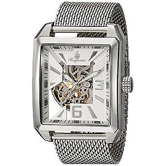 Burgmeister-Armbanduhr mit Silber und bm325 Stahlband Analoganzeige _ 111