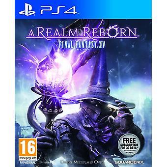 Final Fantasy XIV A Realm Reborn (PS4)