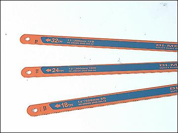 Bahco 3906 Sandflex Hacksaw Blades 300mm 12in Pack 3 (18, 24 & 32tpi)
