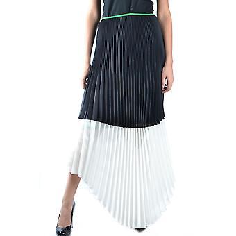 Céline White/black Viscose Skirt