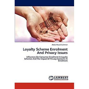 Loyalty Scheme Enrolment And Privacy Issues by Suleman & AbdulRazak