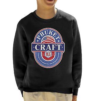 Phuket Craft Ale Kid's Sweatshirt