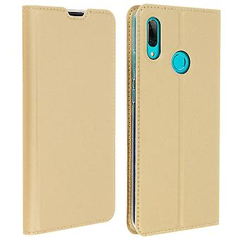 Slim flip wallet case, Business series Huawei P Smart 2019 / Honor 10 Lite Gold