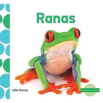 Ranas (Frogs) by Julie Murray - 9781624026317 Book