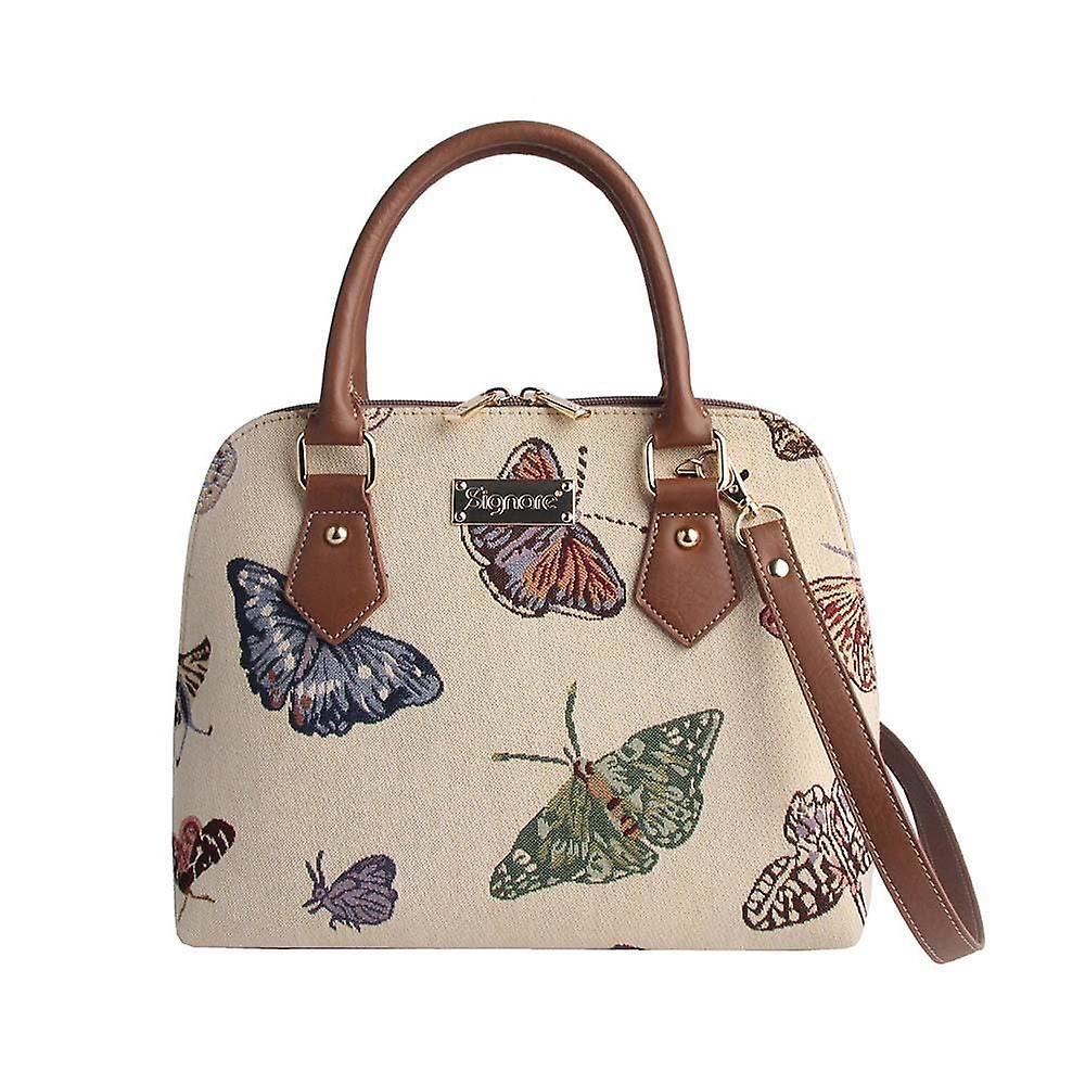 Butterfly femmes&s top-handle shoulder bag by signare tapestry   conv-butt