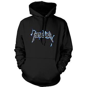 Bluza męska - Metallica Logo - Rock Metal