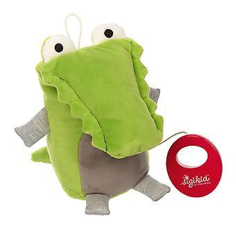 Sigikid Cuddle crocodile music hug Urban Baby Edition