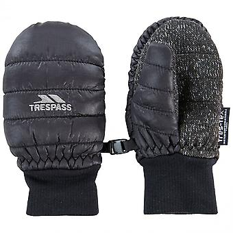 Trespass Boys Pikidino Lightly Padded Winter Warm Mitts