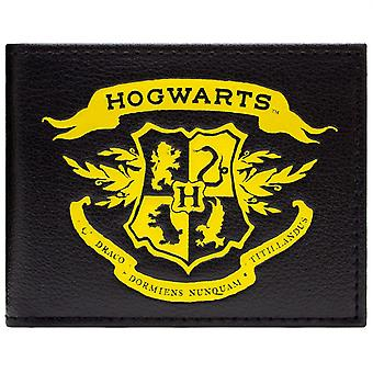 Harry Potter Hogwarts symbool ID & kaart Bi-Fold portemonnee