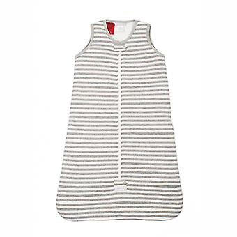 uh-oh! Sleeveless Baby Sleeping Bag with a 2.5 tog Warmth Rating Grey Stripe