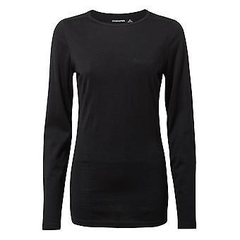 Craghoppers Womens Merino Crew Neck Warm Baselayer Shirt