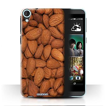 STUFF4 Case/Cover for HTC Desire 820G+ Dual/Almonds/Snacks