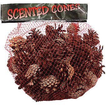 Cinnamon Scented Pine Cones Small Mix 1 Lb Pkg Natural 88 555
