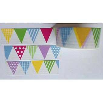 Love My Tapes Washi Tape 20mmX10m-Pennants LMT20X10-2056
