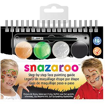 Snazaroo Step By Step Face Painting Kit Halloween 11960 11