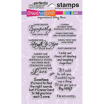 Stampendous Perfectly Clear Stamps 4
