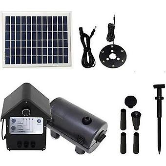 Solar pump set incl. battery, incl. lighting 800 l/h T.I.P. Set SPS 800/12 30334