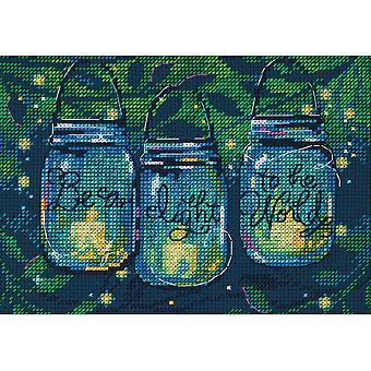 Be A Light Mini Counted Cross Stitch Kit-7