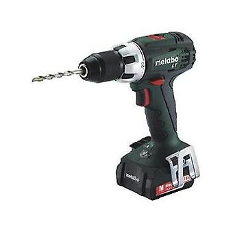 Metabo BS 14.4 LT Cordless drill 14.4 V 2 Ah Li-ion incl. spare battery, incl. case