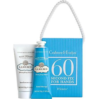 Crabtree & Evelyn Lasource Mini 60 seconde main crème Difficulté Kit