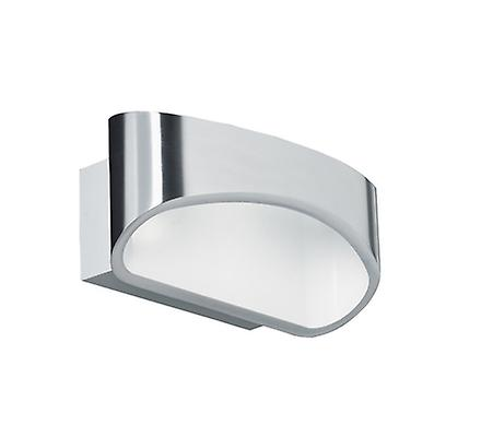Endon JOHNSON-CH LED Modern Polished Chrome Wall Bracket