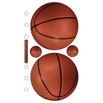 Sticko Stickers-Basketballs SPPH12