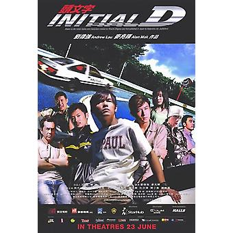 Initial D Movie Poster (11 x 17)