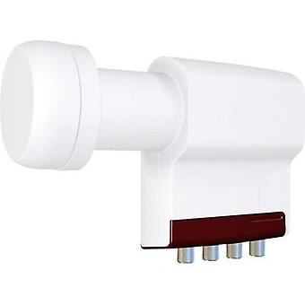 Quattro LNB Inverto RED Extend LNB feed size: 40 mm
