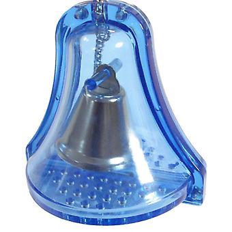 Loro juguete plástico timbre de doble campana Sml