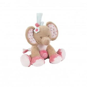Nattou Charlotte Musical Mini Elephant & Rose