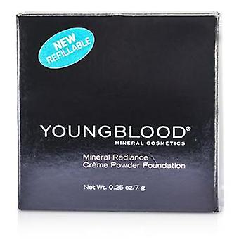 Youngblood Mineral Radiance Creme Powder Foundation - # Rose Beige - 7g/0.25oz