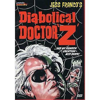 Diabolical Dr. Z [DVD] USA importerer