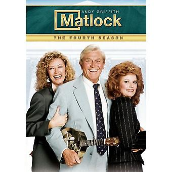 Matlock - Matlock: Fourth Season [DVD] USA import