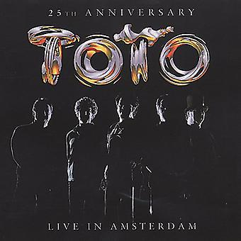 Toto - 25th Anniversary bor i Amsterdam [CD] USA import