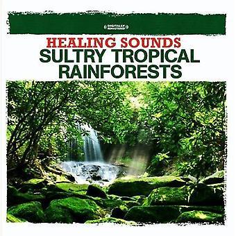 Naturgeräusche - heilende Klänge-schwülen tropischen Regenwälder [CD] USA import
