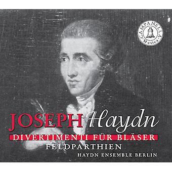J. Haydn - Haydn: Divertimenti F R Bl Ser; Feldparthien [CD] USA importerer