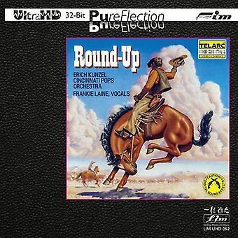 Erich Kunzel & Cincinnati Pop orkester - Round-Up [CD] USA importerer