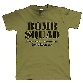 Vectorbomb, de ploeg van de bom, grappige Mens T-Shirt