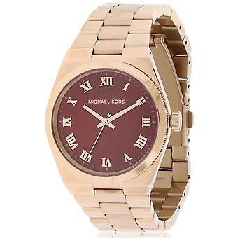 Michael Kors Channing Rose Gold-Tone Ladies Watch MK6090
