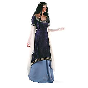 Elf Princess ladies costume medieval Fairy Princess Lady ladies costume dress